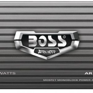 Boss Audio – Armor Series Monoblock MOSFET Power Amp with Remote Subwoofer Level Control (1500W)